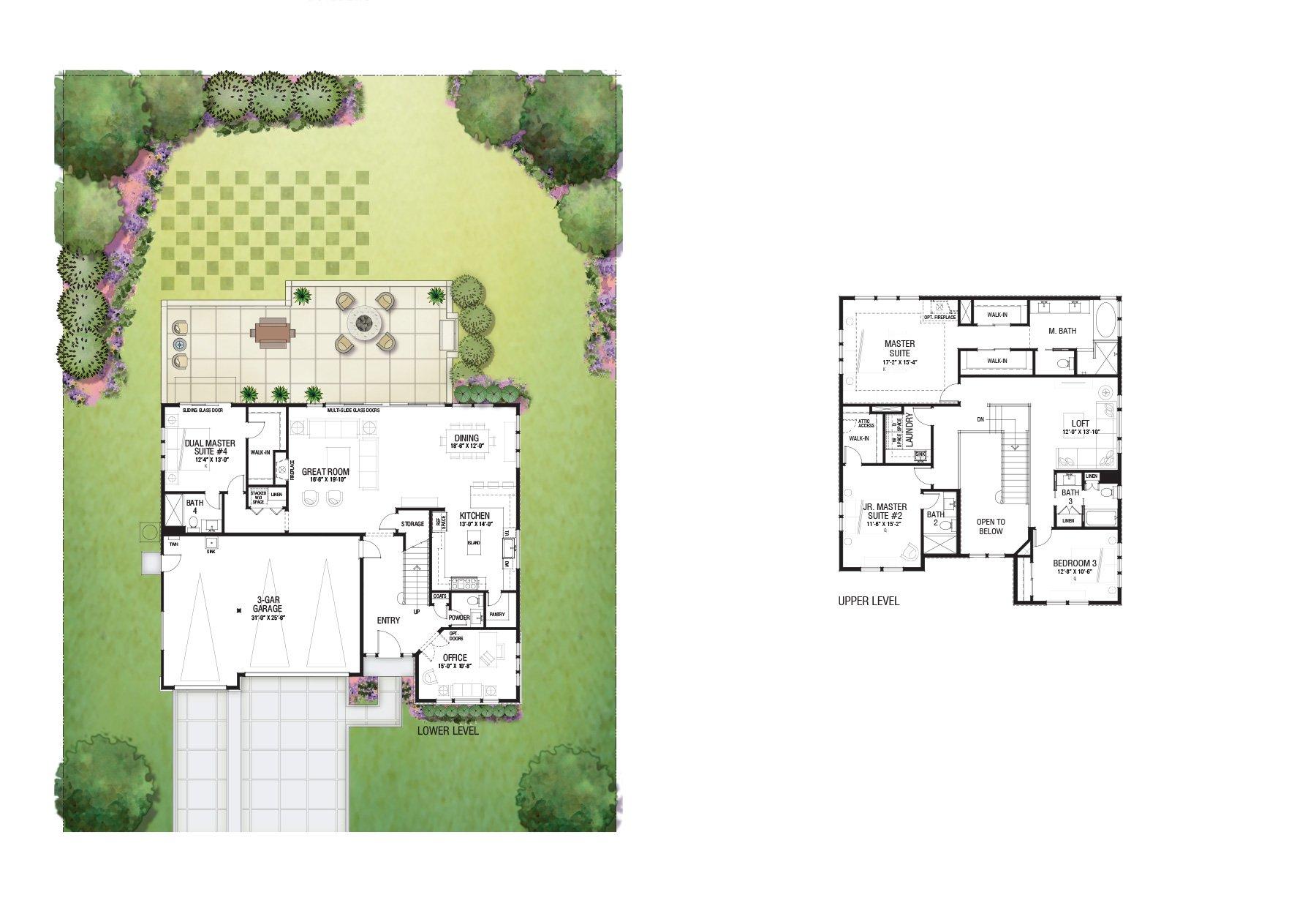 Floor Plan 25 2 Story
