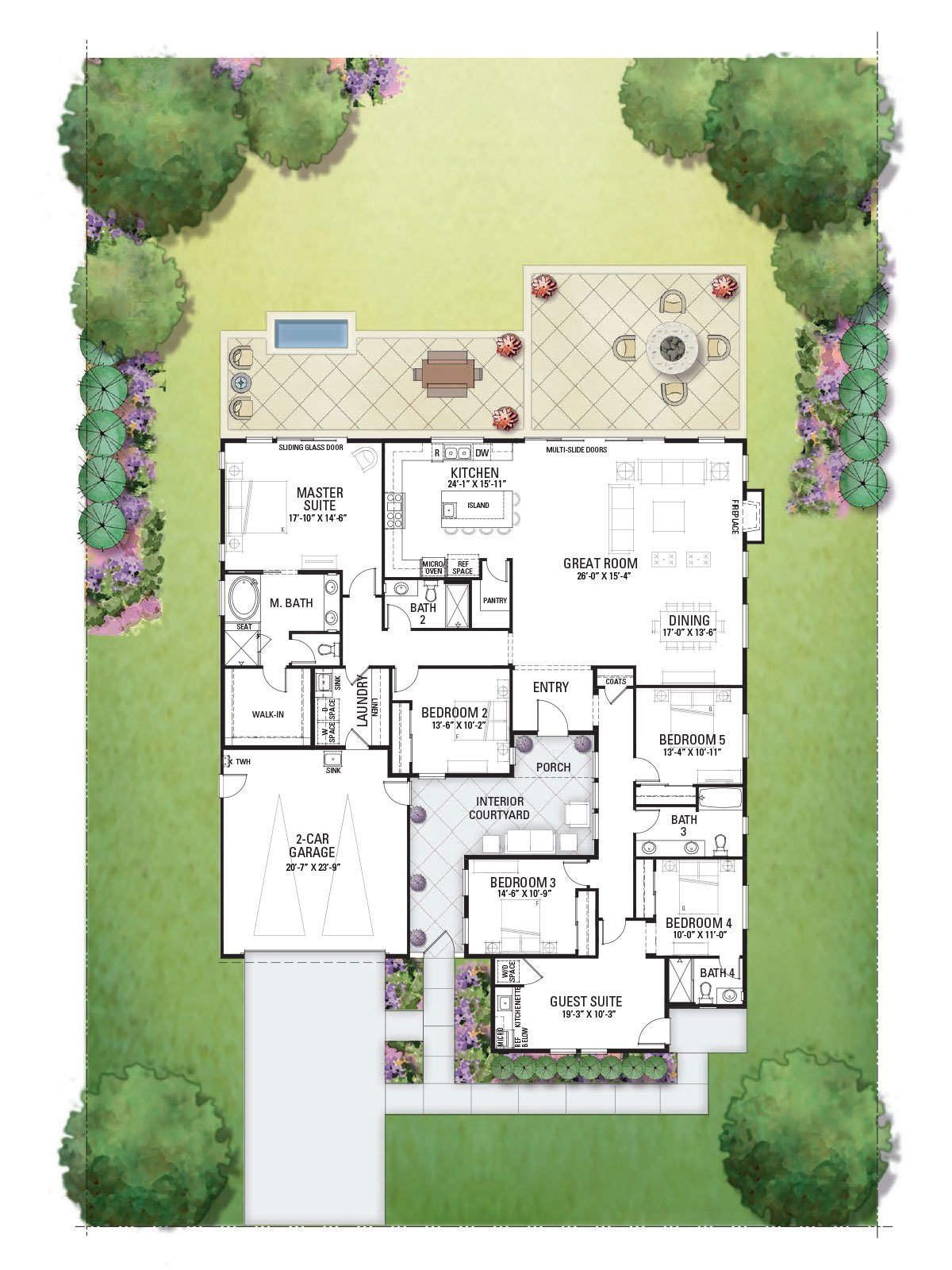 3650 Bellagio Ct Floor Plan 5 New