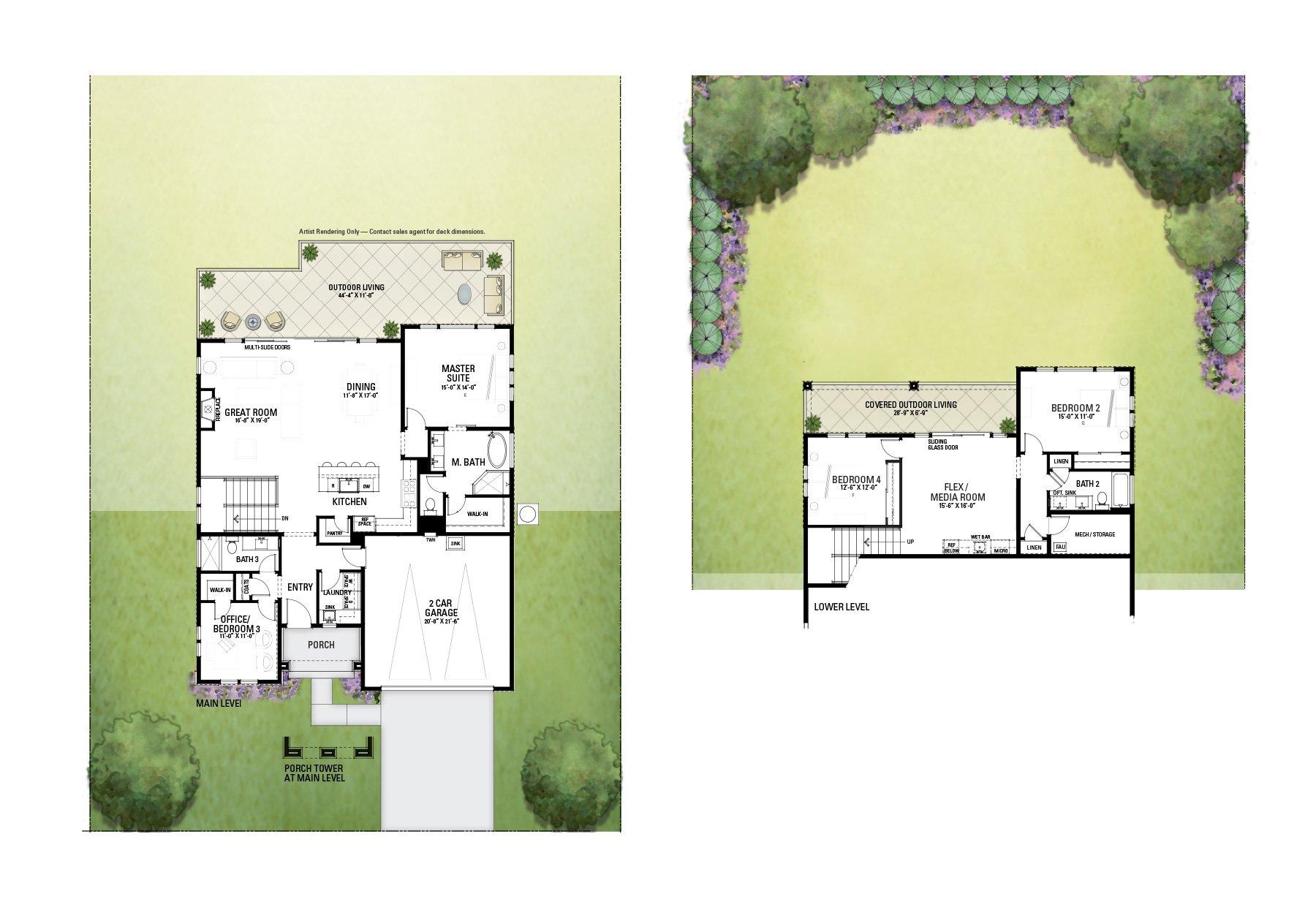 Floor Plan 3708 Llyn Glaslyn