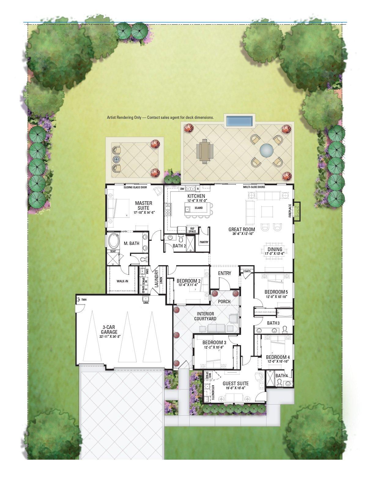 2007 Foxtail Floor Plan