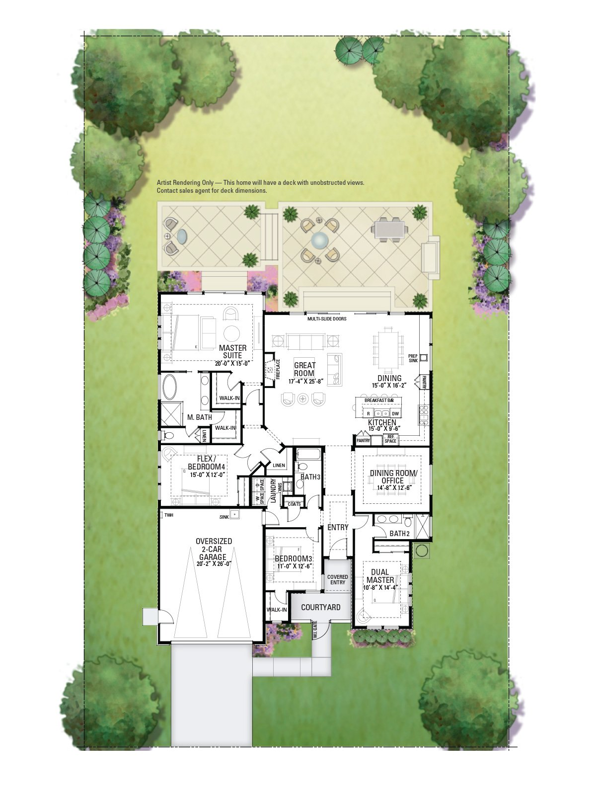 3760 Crown Hill Floor Plan