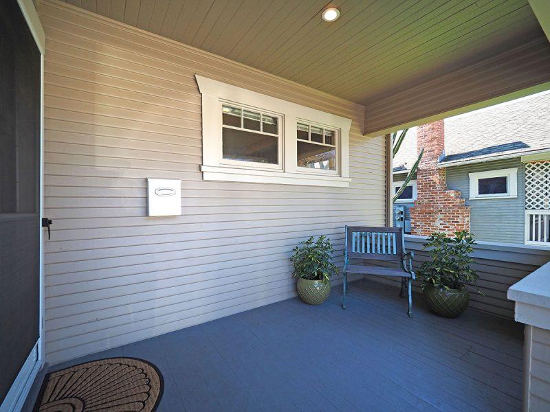 876 Sonoma Avenue Front Porch