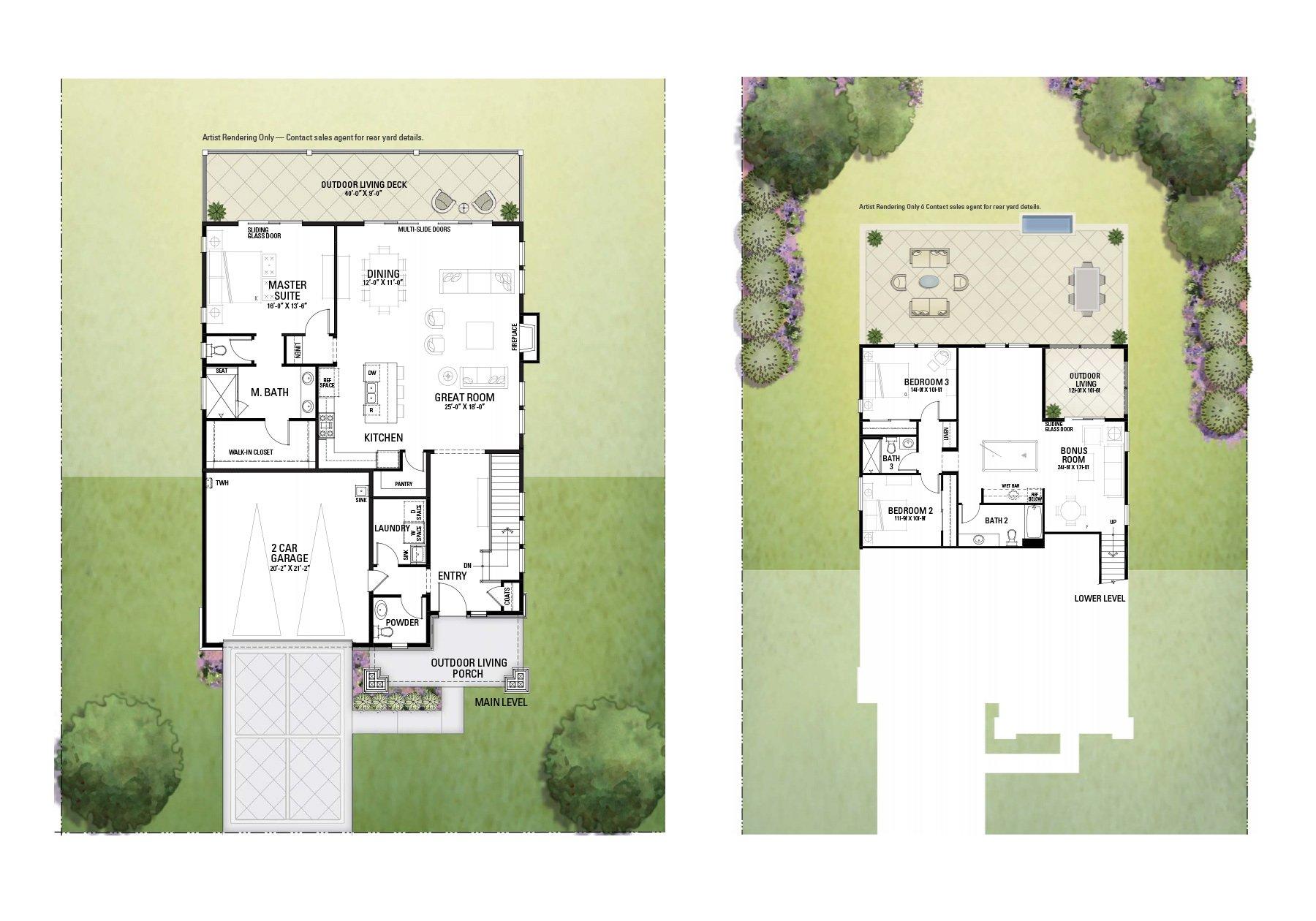 Floor Plans 5778 Fairway Knoll V3