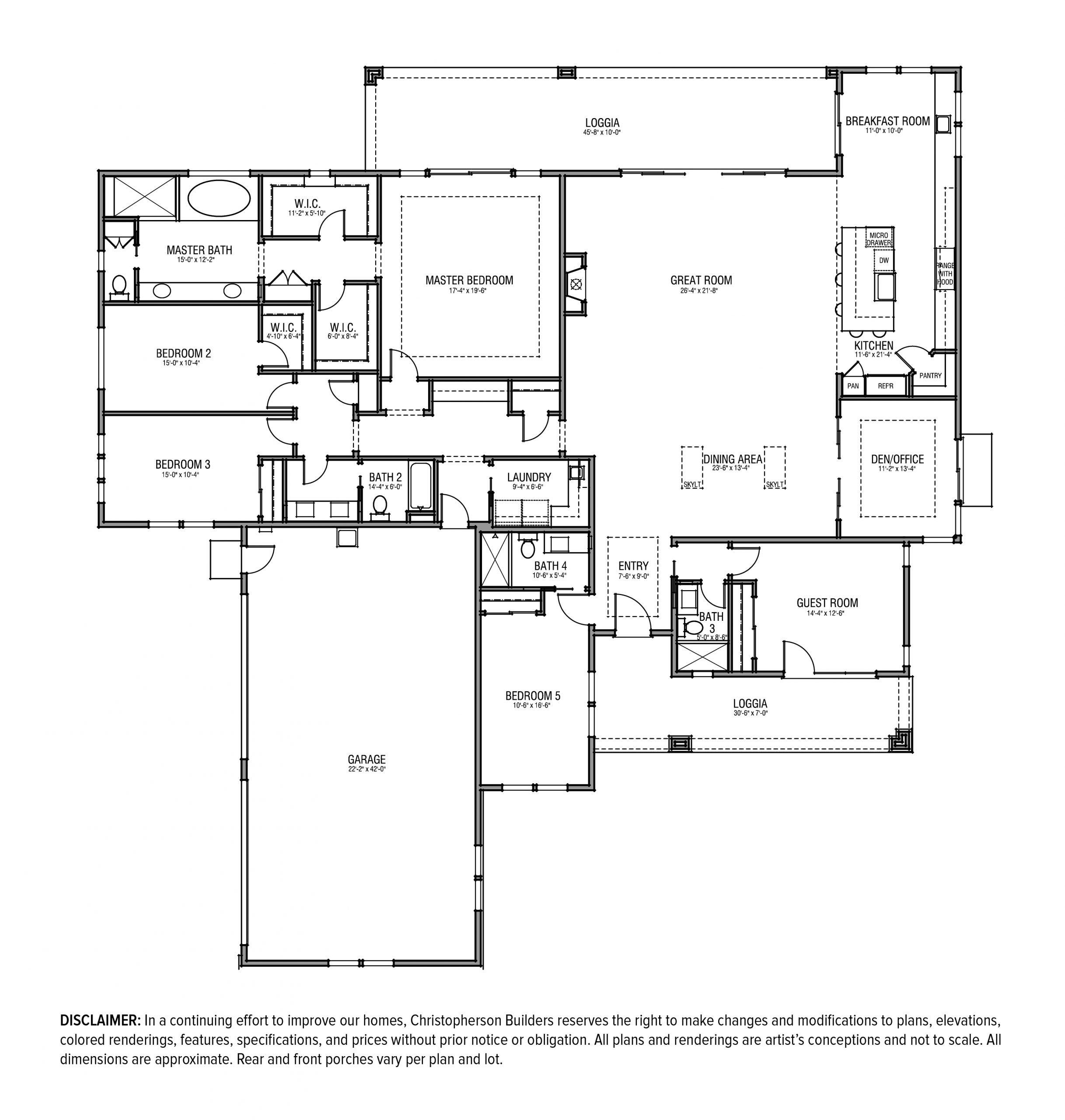 Floor Plan 26x 3923 Hansford Ct B
