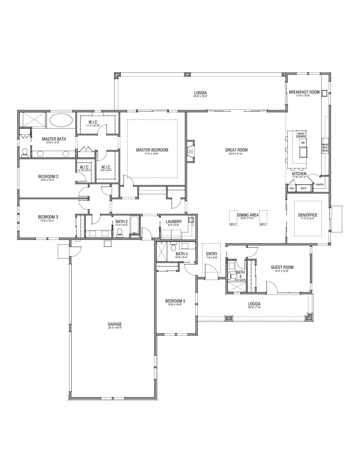 Floor Plan 26x