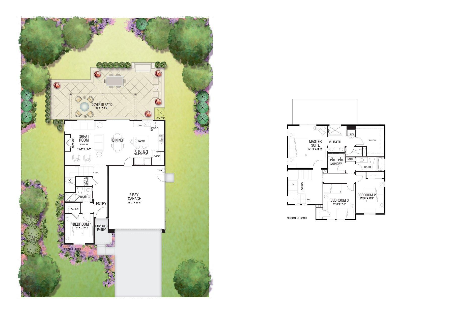 Floor Plan 32x 2 Story