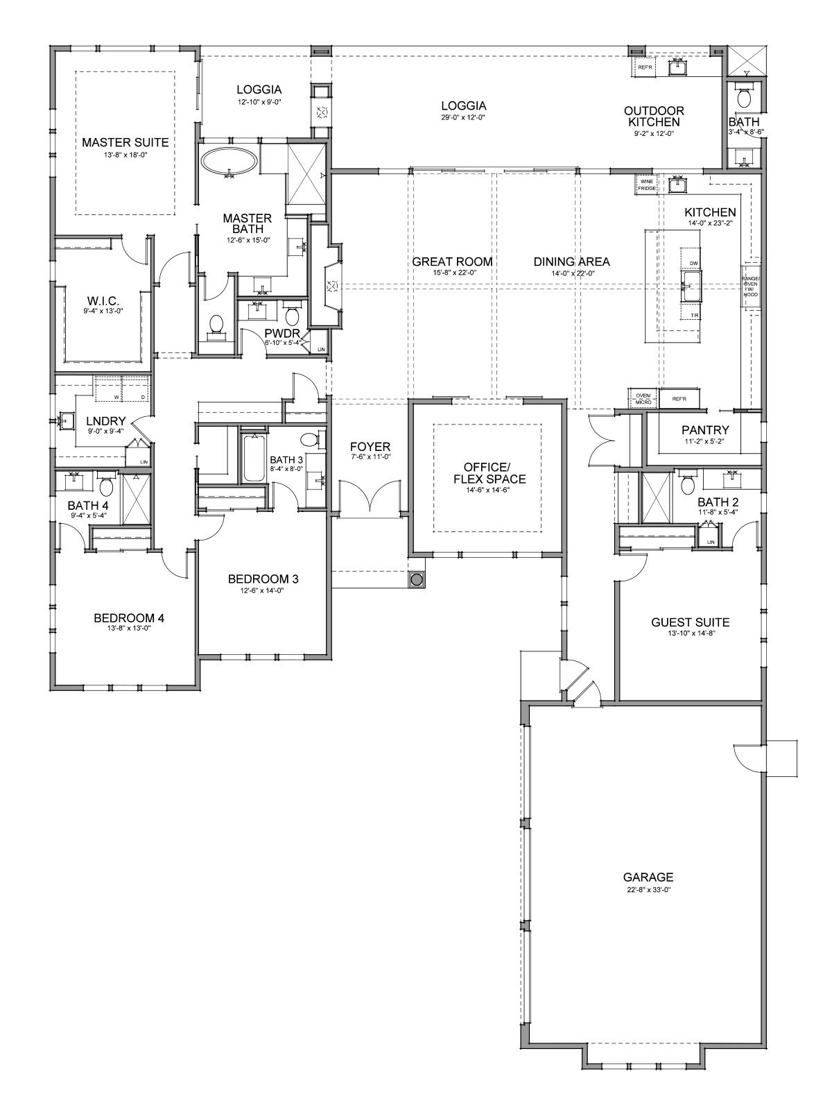 Floor Plan Plan 61